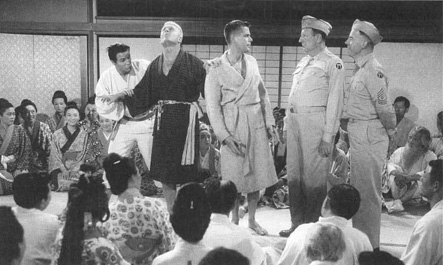 A 1956 film adaptation of The Teahouse of the August Moon