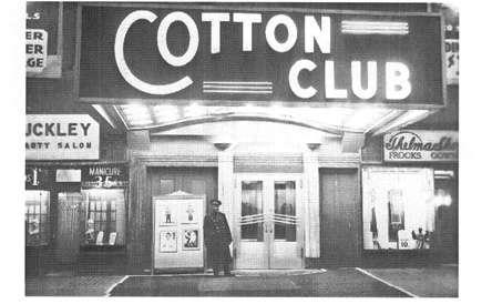 The Cotton Club, a popular jazz nightclub in Harlem, provides the setting for Angels performance in Blues for an Alabama Sky