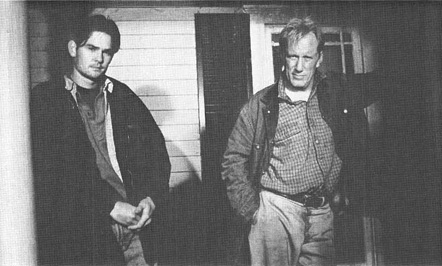 Henry Thomas, as Wesley, and James Wood, as Weston, in the 1994 film adaptation