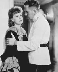 Greta Garbo and Fredric March in a 1935 film version of Anna Karenina