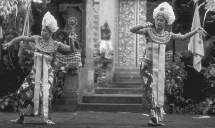 Balinese dancers in the dance-drama Barong  Wolfgang KaehlerCorbis