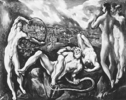 Laocoon by El Greco, 161014