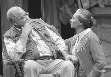 James Earl Jones and Leslie Uggams in a 2005 production of On Golden Pond