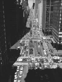 Aerial view of Park Avenue
