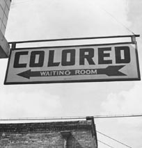 Colored Waiting Room sign