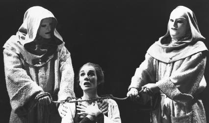 Harriet Walter, as the Duchess in the Royal Shakespeare Companys production of The Duchess of Malfi