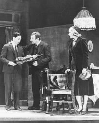 A scene from a stage production of Golden Boy, written by Clifford Odets