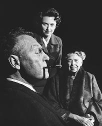 A scene from the 1958 stage production of Sunrise at Campobello, written by Dore Schary