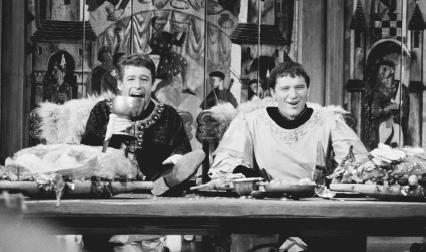 Peter OToole and Richard Burton in the 1963 film Becket, written by Jean Anouilh