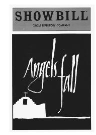 Showbill cover for Angels Fall