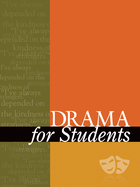 Drama for Students, Vol. 32 cover