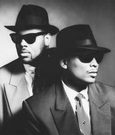 Record producers Jimmy Jam and Terry Lewis. FLYTE TYME PRODUCTIONS. REPRODUCED BY PERMISSION.