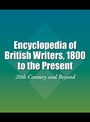 Encyclopedia of British Writers, 1800 to the Present, ed. 2: 20th Century and Beyond cover