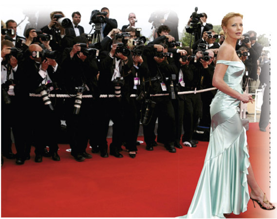 Charlize Theron on the red carpet at the 57th Cannes Film Festival Award Ceremony. In recent years, awards ceremonies have set fashion trends as well as invigorating takings at the box office.