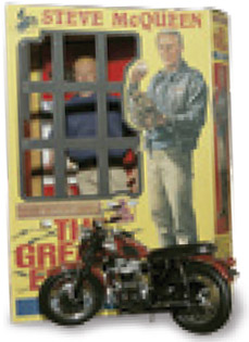 Movie merchandise, such as this toy from the 1963 film The Great Escape, is a multi-million dollar industry and can generate more income than the film itself.