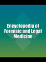 Encyclopedia of Forensic and Legal Medicine cover