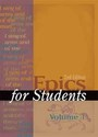 Epics for Students, ed. 2 cover