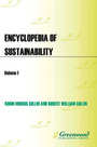 Encyclopedia of Sustainability cover