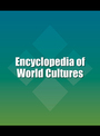 Encyclopedia of World Cultures: Supplement cover