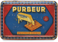 French biscuit tin