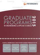 Petersons Graduate Programs in Engineering & Applied Sciences 2015, ed. 49