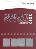 Petersons Graduate & Professional Programs, ed. 49: An Overview 2015