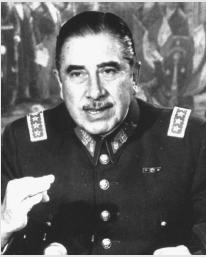 AUGUSTO PINOCHET. (AP/Wide World Photos. Reproduced by permission.)