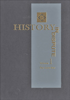 History in Dispute, Vol. 1 cover