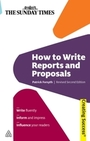 How to Write Reports and Proposals, Rev. 2nd ed. cover