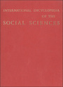 International Encyclopedia of the Social Sciences cover