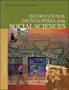 International Encyclopedia of the Social Sciences, ed. 2