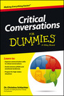 Critical Conversations For Dummies� cover