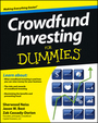 Crowdfund Investing For Dummies� cover