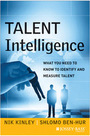 Talent Intelligence: What You Need to Know to Identify and Measure Talent cover