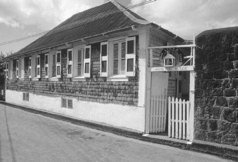 Hamilton House. Alexander Hamilton was born in Charlestown on Nevis around 1757 in a house that was destroyed by an earthquake in 1840. Hamilton House was later built on its foundation, and now houses the Museum of Nevis History.