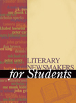 Literary Newsmakers for Students, Vol. 1 cover