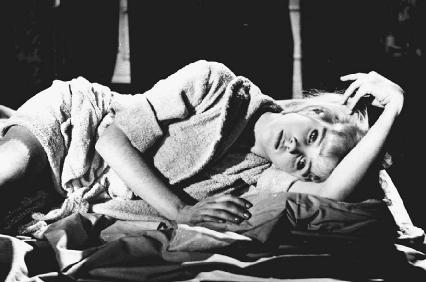 Sue Lyon in a scene from the film Lolita