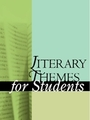 Literary Themes for Students: War and Peace cover