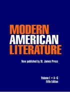 Modern American Literature, ed. 5