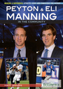 Peyton & Eli Manning in the Community cover