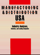 Manufacturing and Distribution USA, ed. 4: Industry Analyses, Statistics and Leading Companies