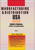 Manufacturing & Distribution USA, ed. 6: Industry Analyses, Statistics and Leading Companies