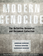 Modern Genocide: The Definitive Resource and Document Collection