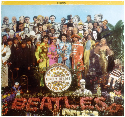 Sgt. Peppers Lonely Hearts Club Band, a concept album released by the Beatles in 1967, forever changed pop music with its innovative cover art, production style, and themes.
