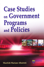 Case Studies on Government Programs and Policies, Vol. 1 cover
