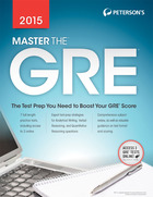 Petersons Master the GRE    2015