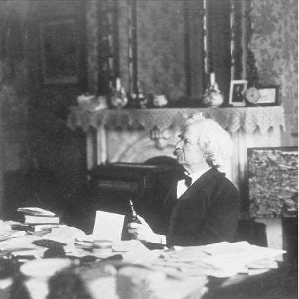 a biography of samuel clemens commonly known as mark twain Mark twain was a navigational term on the mississippi river, called out by the leadsman to indicate a depth sounding of two fathoms - a phrase clemens, once a riverboat pilot, would have heard day and night.