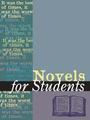 Novels for Students, Vol. 31 cover
