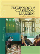 Psychology of Classroom Learning: An Encyclopedia
