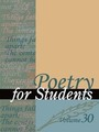Poetry for Students, Vol. 30 cover